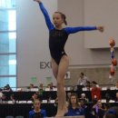 Tess McCracken on beam