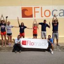 Illini body spelling with Flo flare