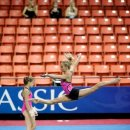 Nastia Liukin beautiful split jump in 2012