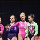 Nastia Liukin back on the medal podium