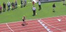 Meghan Vogel helping runner finish at Ohio State Track plus interview - Most Inspirational, Flotrack's Best of 2012