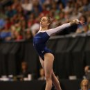 Peyton Ernst on floor at the 2012 Visa Championship