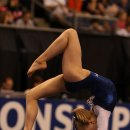 Bailie Key on floor at the 2012 Visa Championships