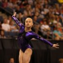 Lacy Dagen on floor at the 2012 Visa Championships