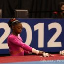 Simone Biles at the 2012 Visa Championships