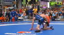 55 lbs match Sam Hazewinkel USA vs. Artas Sanaa Russia