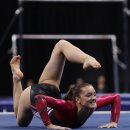 Maggie Nichols on Floor at 2012 Visa Championships  