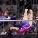 Amelia Hundley on bars  