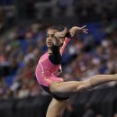Gymnast Laurie Hernandez at 2012 Visa Championships  