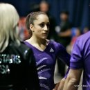 Jordyn Wieber with Twistars coaches