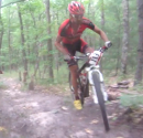 Drew Edsall Rides Fire Tower Run-Up - Lumberjack 100
