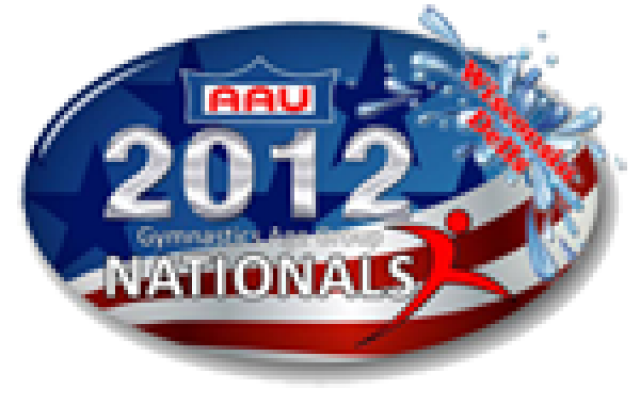 AAU Age Group Nationals - Ladies' Division - Wildcard, Alison, FX (9.075)