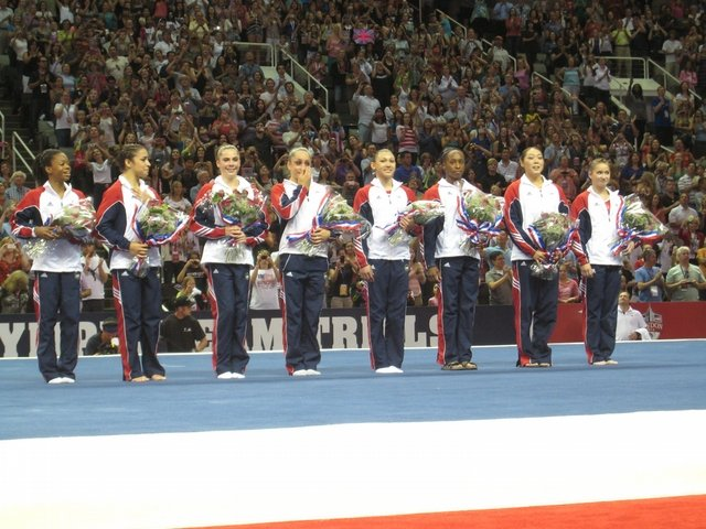 1984 Olympics Gymnastics Women's Team http://www.gymnastike.org/coverage/250081-Gymnastikes-Best-of-2012/article/13322-USA-Gymnastics-names-2012-USA-Womens-OLYMPIC-TEAM