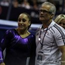 2012 U.S. Olympic Trials- Jordyn Wieber and John Geddert
