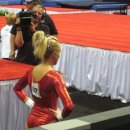 Nastia Liukin disappointed after her final bar routine