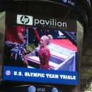 Nastia Liukin waves to the crowd after her final routine - 2012 USA Olympic Trials