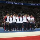 2012 USA Men's Olympic gymnastics team