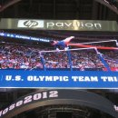 The big screen at 2012 USA Olympic Trials