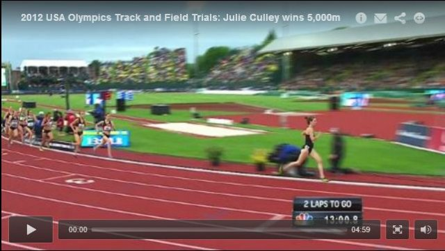 Womens 5000m Final - USA Olympic Track and Field Trials 2012