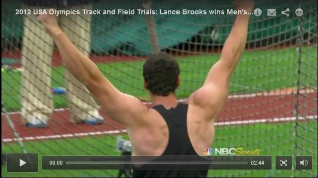 Mens Discus Final - USA Olympic Track and Field Trials 2012