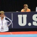 Martha Karolyi and the Selection Committee Watch Podium Training