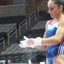 Jordyn Wieber chalking up