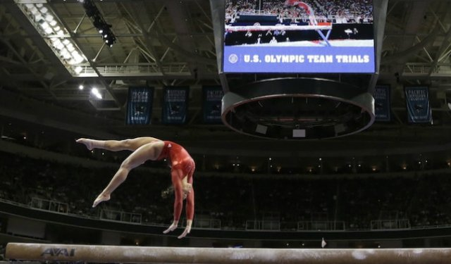 Alicia Sacramone - 2012 Olympic Trials, night 2 routines