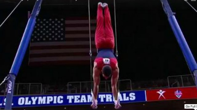 Danell Leyva - 2012 Olympic Trials Champion, night 2 routines