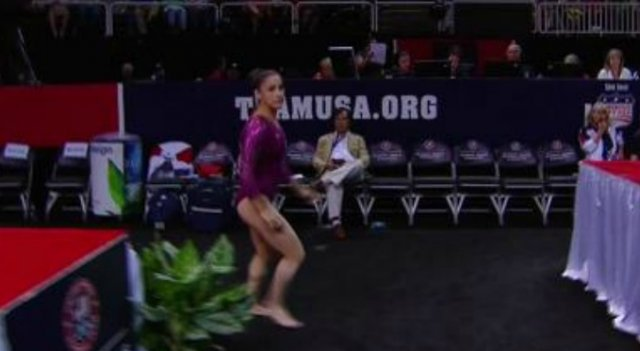 Aly Raisman - 2012 Olympic Trials, night 1 routines
