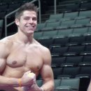 Chris Brooks at podium training
