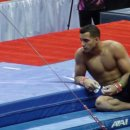 Danell Leyva at 2012 Trials training