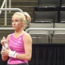 Nastia Liukin at 2012 Olympic Trials podium training  