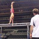 Sam Mikulak on p bars