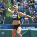 2012 Olympic Trials (Day 10): Rachel Yurkovich, 4th in the Javelin Makes the Olympic Team