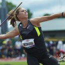 2012 Olympic Trials (Day 10): Alicia DeShasier, 5th in the Javelin