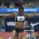 2012 Olympic Trials (Day 10): Janay DeLoach, 3rd in the Long Jump