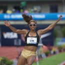 2012 Olympic Trials (Day 10): Brianna Glenn, 5th in the Long Jump