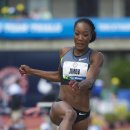 2012 Olympic Trials (Day 10): Funmi Jimoh 7th in the Long Jump