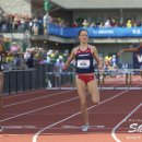 2012 Olympic Trials (Day 10): Lashinda Demus Leads 400 Meter Hurdles over Georganne Moline and T'Ere