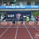 2012 Olympic Trials (Day 10): Angelo Taylor (2nd) Leads Michael Tinsley (2nd) and Kerron Clement in