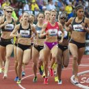 2012 Olympic Trials (Day 10): Brenda Martinez Leads Morgan Uceny and Jenny Simpson in the 1500 Meter