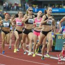 2012 Olympic Trials (Day 10): Morgan Uceny and Jenny Simpson Lead the 1500 Meter