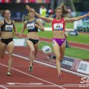 2012 Olympic Trials (Day 10): Morgan Uceny Wins the 1500 Meter over Shannon Rowbury and Jenny Simpso
