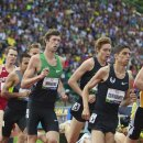 2012 Olympic Trials (Day 10): Matthew Centrowitz (2nd) and Andrew Wheating (3rd)i in the 1500 Meter