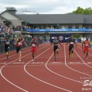 2012 Olympic Trials (Day 10): Wallace Spearmon Wins the 200 Meter over Maurice Mitchell and Isiah Yo