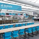 London 2012 Athletes Village main dining hall  Credit  LOCOG