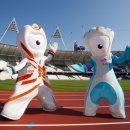 London2012 mascot Wenlock and Mandeville  Credit  LOCOG