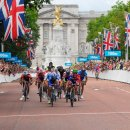 The Mall   Mark Cavendish victorious in London 2012 road race test event  Credit  LOCOG