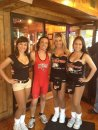 Hooters Bulging