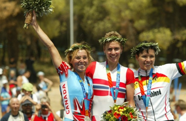2004 Women Olympic Games Mountain Bike XCO Athens, Greece